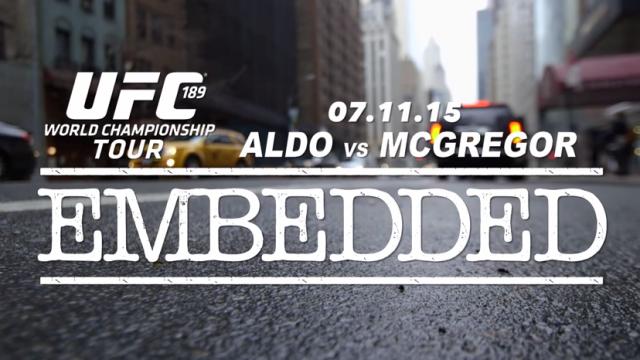 UFC 189 Embedded