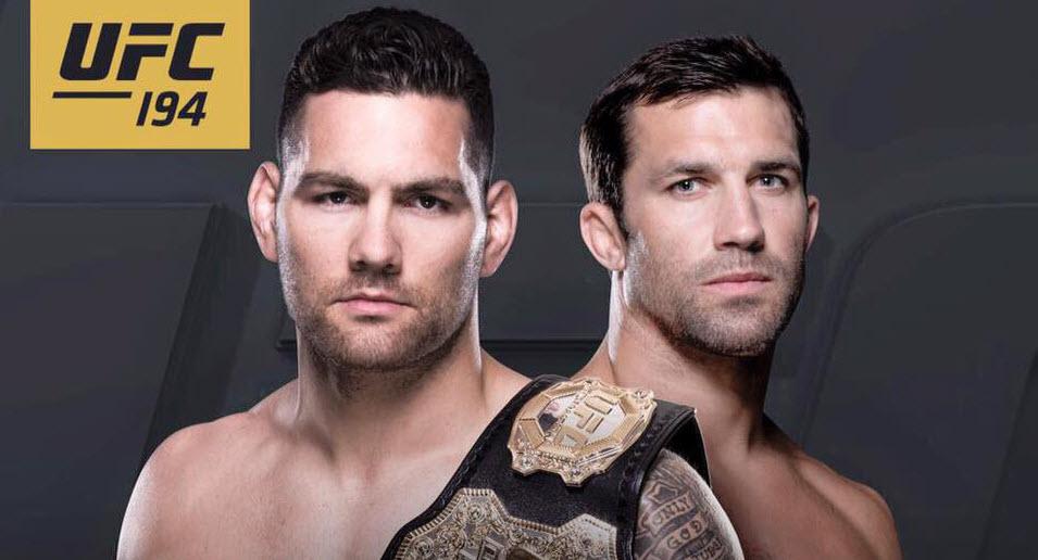 UFC 194 - Rockhold vs Weidman