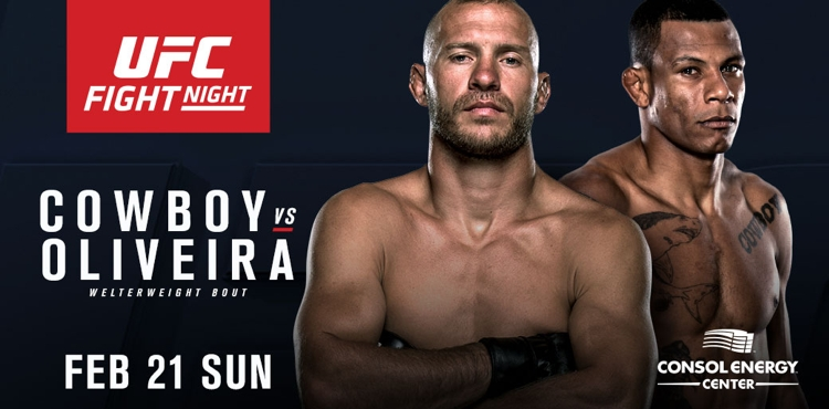 UFC Fight Night 83: Cowboy vs Oliveira