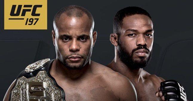 Jones vs. Cormier UFC 197