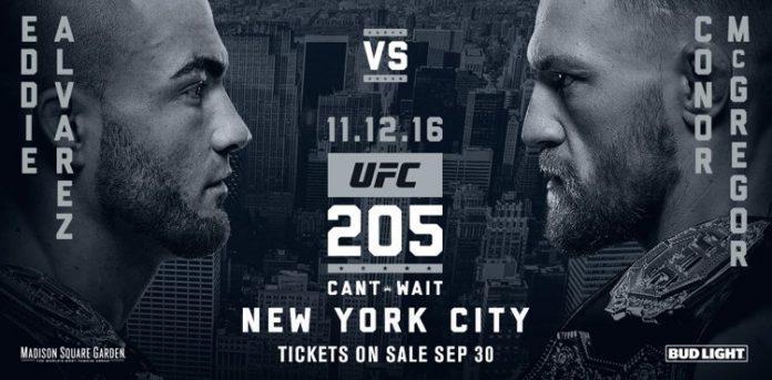 UFC 205 Alvarez vs. McGregor