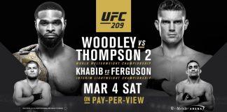 UFC 209 Thompson vs. Woodley
