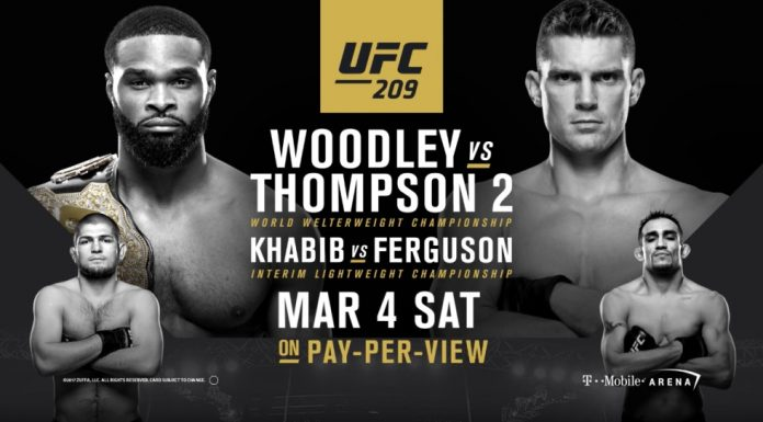 UFC 209 Thompson vs. Woodley