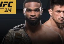 UFC 214 Woodley vs. Maia