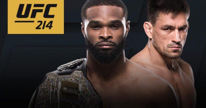 UFC 214 Woodley vs. Maia