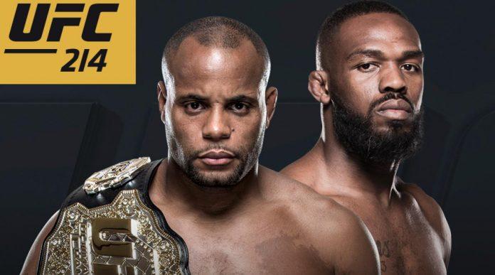 UFC 214 Cormier vs. Jones 2