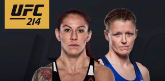 UFC 214 Cyborg vs Evinger