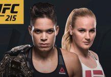 UFC 215 - Amanda Nunes - Valentina Shevchenko