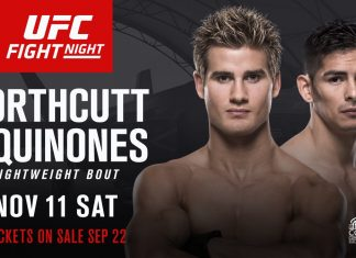 UFC Fight Night: Northcutt vs Quinones