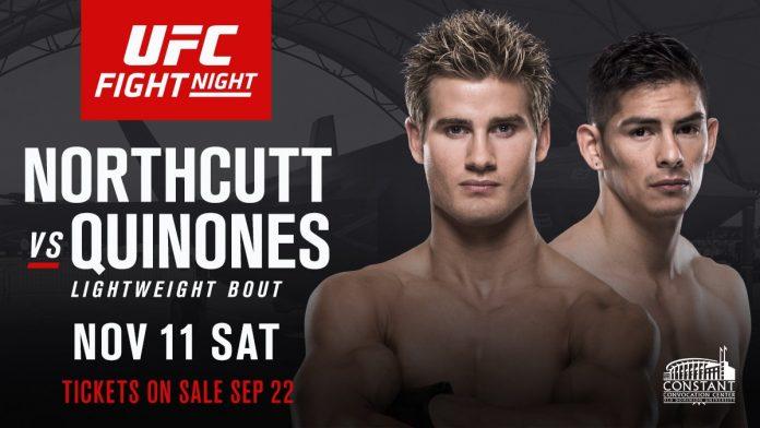 UFC Fight Night: Northcutt vs Quinones